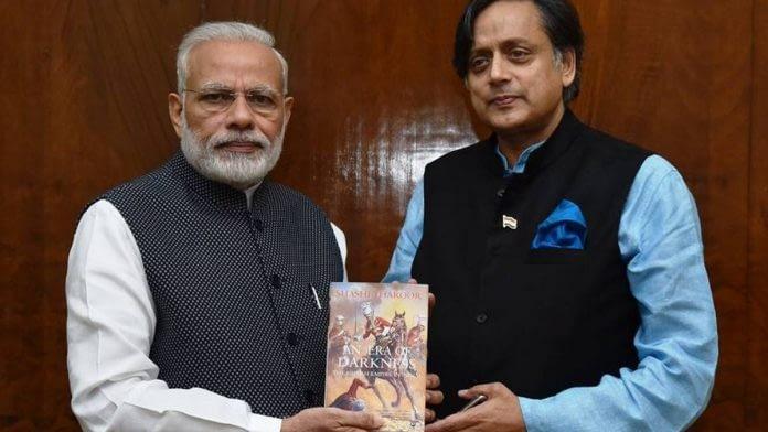 Shashi Tharoor Narendra Modi 696x392 1