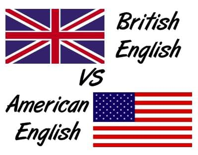British accent vs American accent