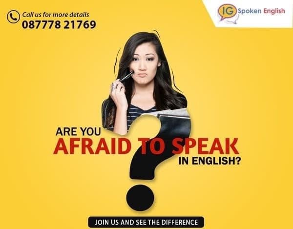 speak fluently in English courses