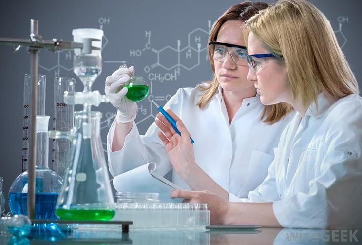 chemistry student and teacher