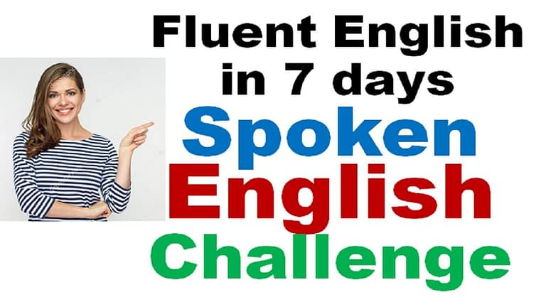seven days fluent english