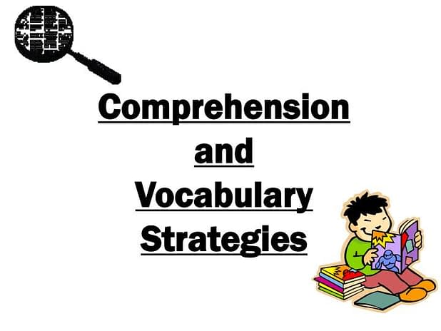 comprehension and vocabulary strategies n