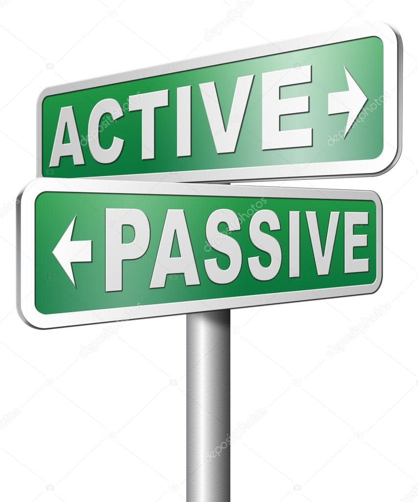 depositphotos 73976531 stock photo active or passive sign