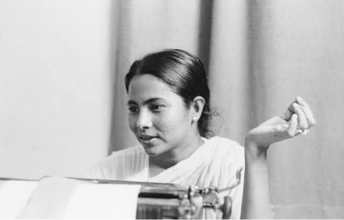 mamata banerjee young picture