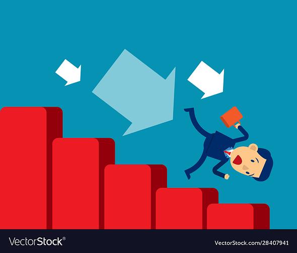 economic recession concept business vector 28407941