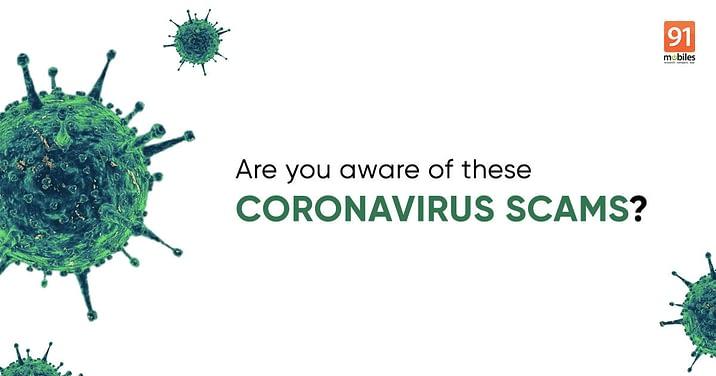 coronavirus scams feature image