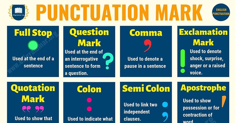 Punctuation Mark 3