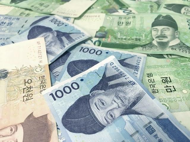 Korean money Counting