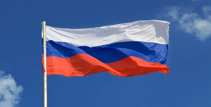 asia russian flag banner image