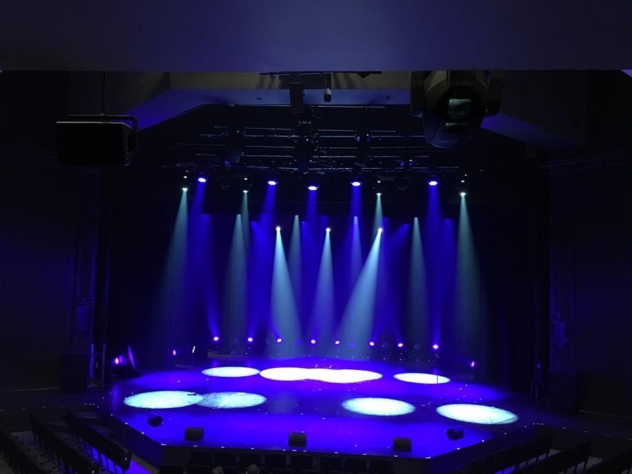 Leicester Haymarket Theatre stage