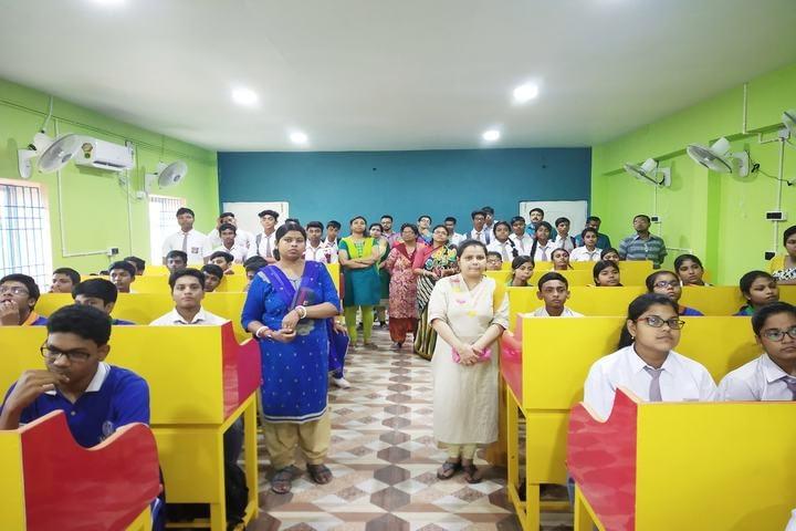 Kanchrapara English Medium School Audio Visual Room